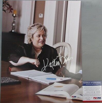 Entertainment Memorabilia Kathy Bates Signed Harry's Law 11x14 Photo #3 Psa/dna Oscar Winner Steady Good Show!