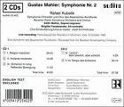 Mahler: Symphony No. 2 (CD, Mar-2001, 2 Discs, Audite)