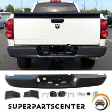 Black Rear Step Bumper Assembly For 2004 2008 Dodge Ram 1500 2500 3500 Hd Fits 2005 Dodge Ram 1500