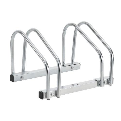 Fahrradständer für 2 Fahrräder Ständer Mehrfachständer Stahl verzinkt neu.haus