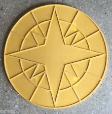 "Compass Star accent concrete stamp 24"""