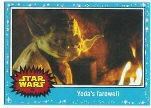 2015-Star-Wars-Journey-To-The-Force-Awakens-68-Yodas-farewell-Topps