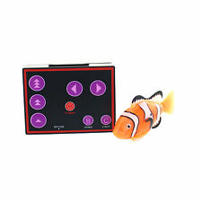 RC Remote Control Micro Nemo Clown Fish Mini Aquarium Robo Fish Water Activate