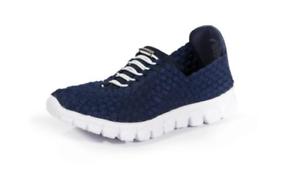 ZEE-ALEXIS-Danielle-Navy-White-Bottom-Sneakers-Women-039-s-US-sizes-6-11-NEW