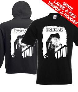 Details about Nosferatu Classic Vampire Horror Movie T Shirt / Hoodie