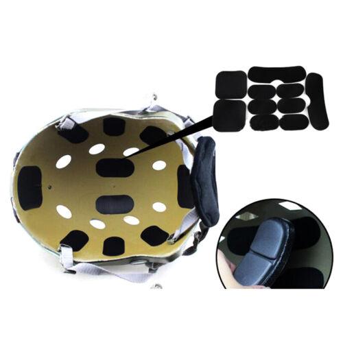 satz Tactical Military Helm Pads Jagdhelm Schutzpolster KdTSAU ST 19 Teile