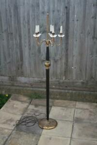 Details about Stylish Vintage 1950s Italian Mid Century Floor Lamp For rewiring