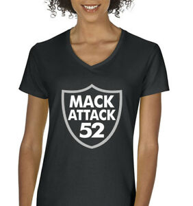 427ed265 V-NECK Ladies Khalil Mack Oakland Raiders