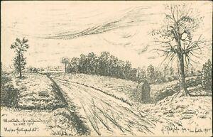 A J Hamburg ww1 german feldpostkarte 1916 kaminski bergedorf hamburg 8