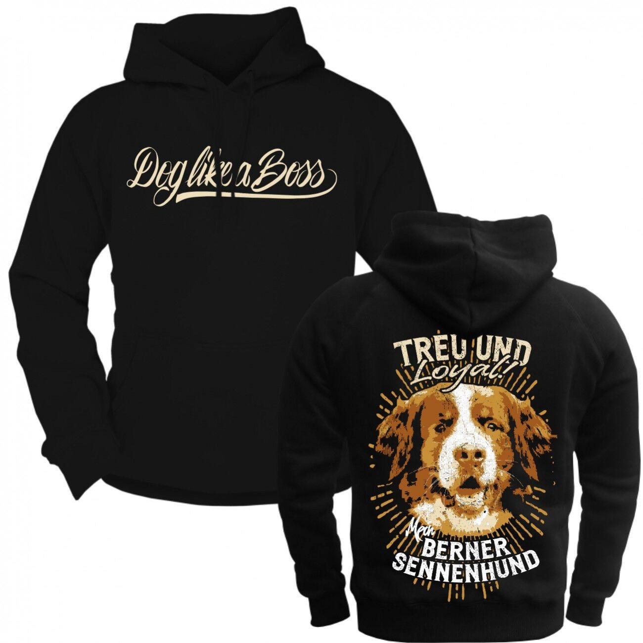 Kapuzenpul Lover hoodie Berner Sennenhund Dogs razza Cappelli Molosser begleithunde