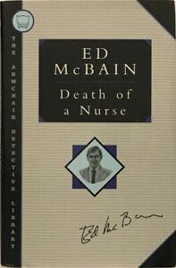 Ed McBain: Death of a Nurse SIGNED FIRST THUS