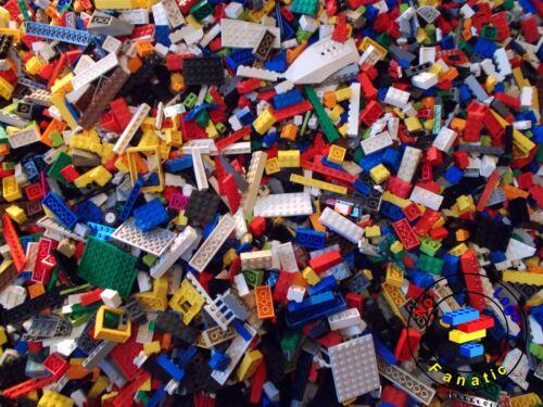 Lego Mixed Bundle 400 Pieces Parts /& Pieces /& Set Wheels Plus 5 x Minifigures