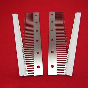 2x-4-5mm-Deckerkamm-40er-Deckerkaemme-sockscomb-decker-combs-knitting-machine