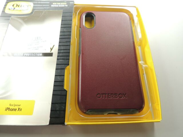 OtterBox Symmetry Series Case for Apple iPhone XR - Fine Port - PreOwned