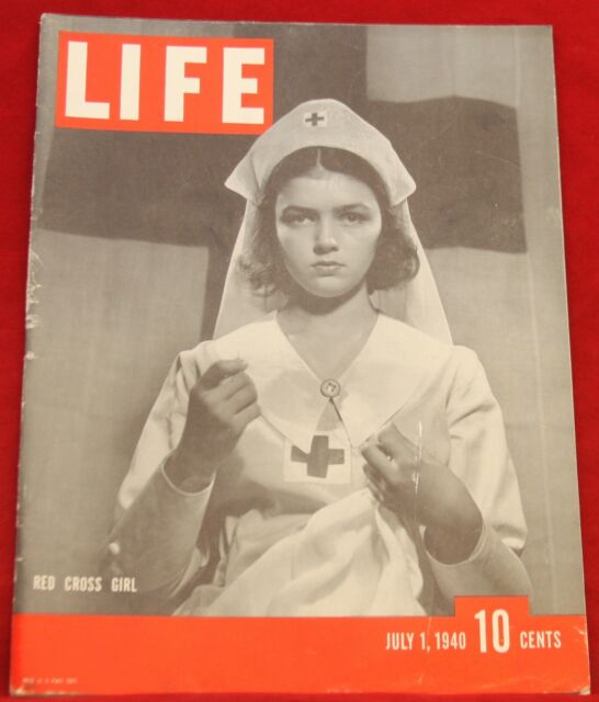 Life Magazine July 1, 1940 Ads Champion Plugs, Texaco Near Mint Condition