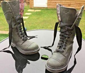 Broadway Boots Uk Plaid Dark Line Dr Leather Eu 38 Martens Mirage 1914 Triumph 5 qzqwpxX6
