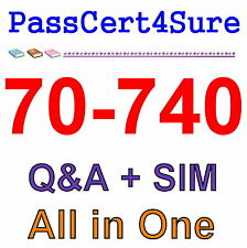Best Practice Material For 70-740 Exam Q&A+SIM