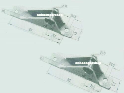 Lagerschuh lange Ausführung zur Gasfederbefestigung 8 X 85 X 17 mm VPE=2 Stück