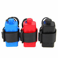 4 X18650 Water Resistant Battery Pack Case House Cover For Bike Bicycle Lamp