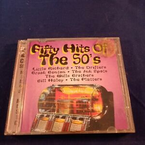 CD-Fifty-Hits-of-the-50-039-s-2-CD
