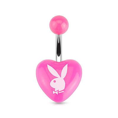 Bauchnabelpiercing Playboy Bunny Chirurgenstahl Schwarz