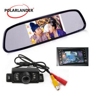 4-3-034-Parcheggio-7-LED-Vista-Posteriore-Telecamera-Auto-Monitor-Visione-notturna