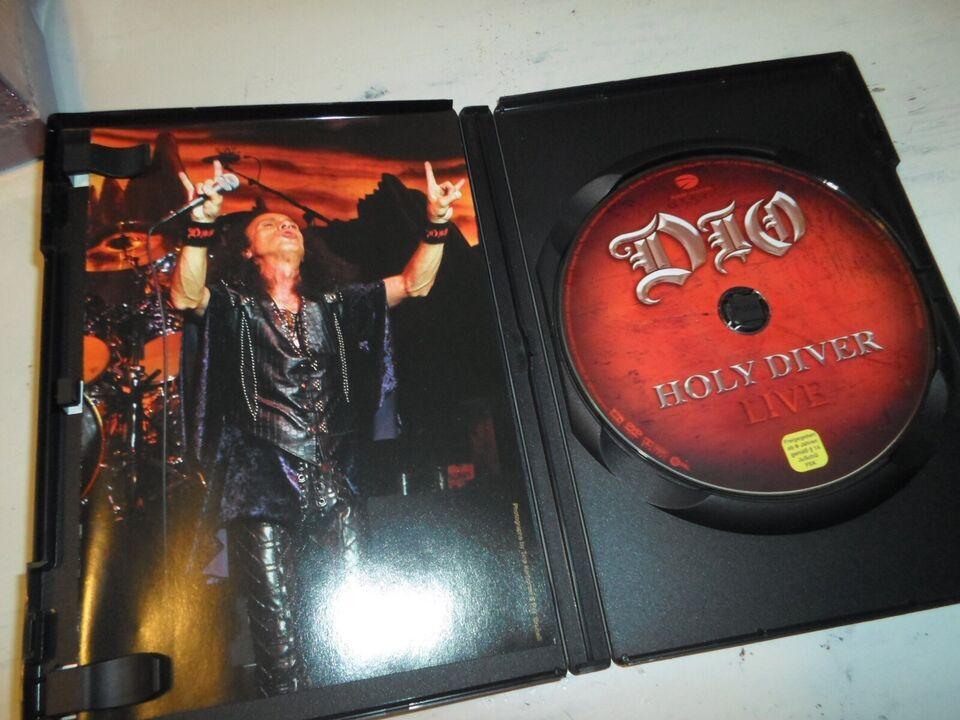 Dio – Holy Diver Live, instruktør Ronnie James Dio, DVD