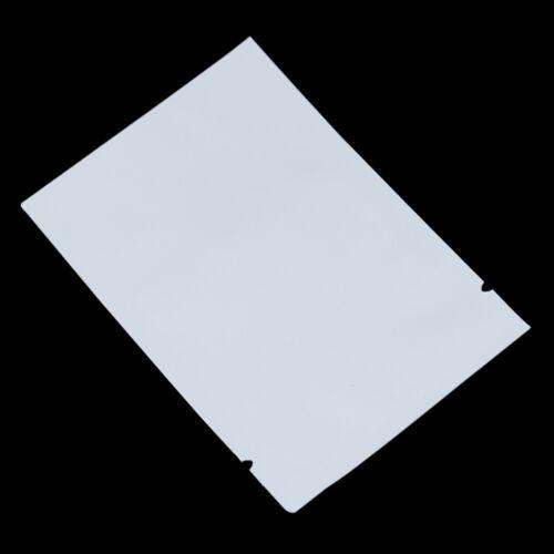 100X Heat Seal Colors Aluminum Foil Bags Mylar Food Storage Vacuum Matte Pouches