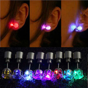 1Pair-LED-Grow-Light-Up-Stainless-Steel-Dance-Christmas-Stud-Earring