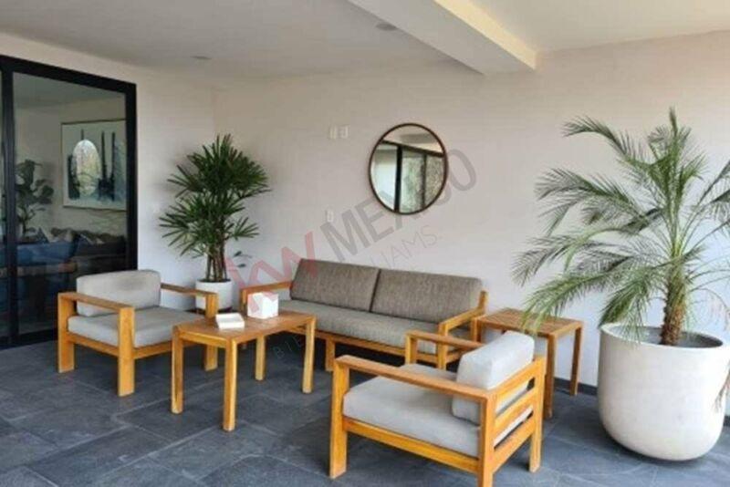 Departamento nuevo en Interlomas, espectacular terraza techada de 36 m2, 173 m2 de cons...