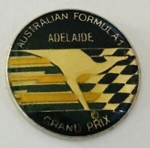 Australian-Formula-1-Adelaide-Grand-Prix-Pin-Badge-Rare-Vintage-No-Clasp-R10