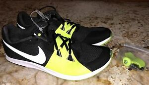 check out 53b69 8f130 Image is loading NIKE-Zoom-Rival-XC-Black-Volt-Cross-Country-