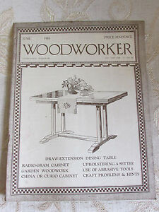 Antique Collectable Magazine Of  Woodworker June Volume No. XXXIX - 1935
