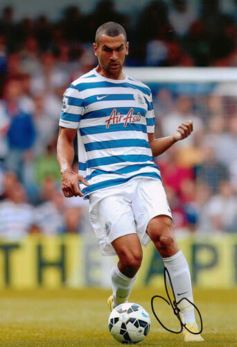 Steven Caulker Hand Signed In Person 12X8 Photo QUEENS PARK RANGERS 1888