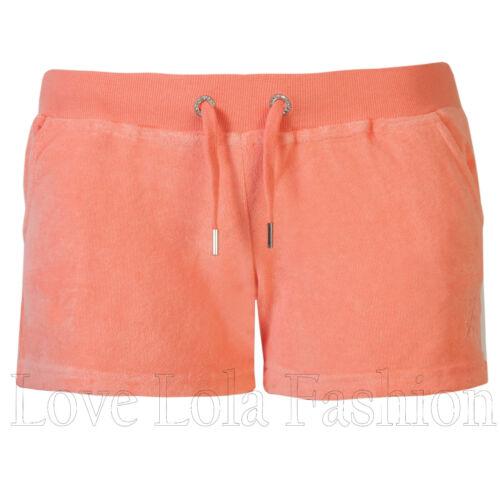 Da Donna Pantaloncini Donna Toweling BEACH BUM SURF HOT PANTS Brody /& Co Palestra Allenamento