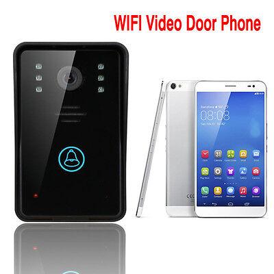 Smart WiFi DoorBell Wireless Smart Video Phone Door Visual Bell Intercom System
