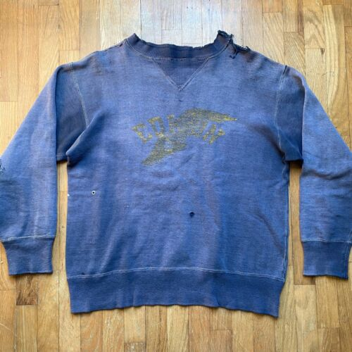 VINTAGE EDISON TRACK Double-V Sweatshirt 40s Schoo