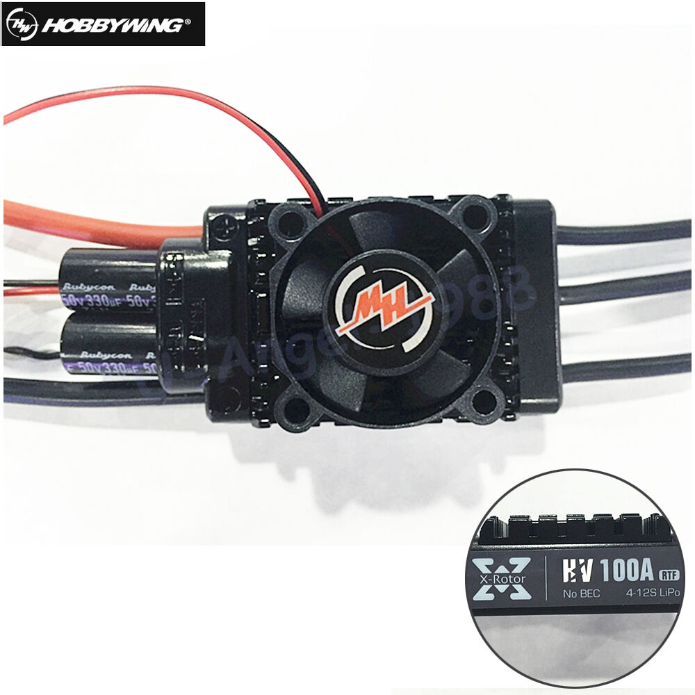 Hobbywing Xrojoor 100A HV regulador electrónico de la velocidad ESC Xrojoor - 100A-HV para control de radio