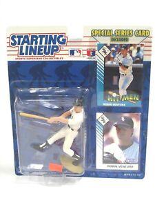 Starting Lineup Action Figure Robin Ventura Chicago White Sox MLB Kenner 1993