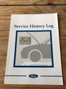 ford service history book  car  customer details  stamps en  ebay