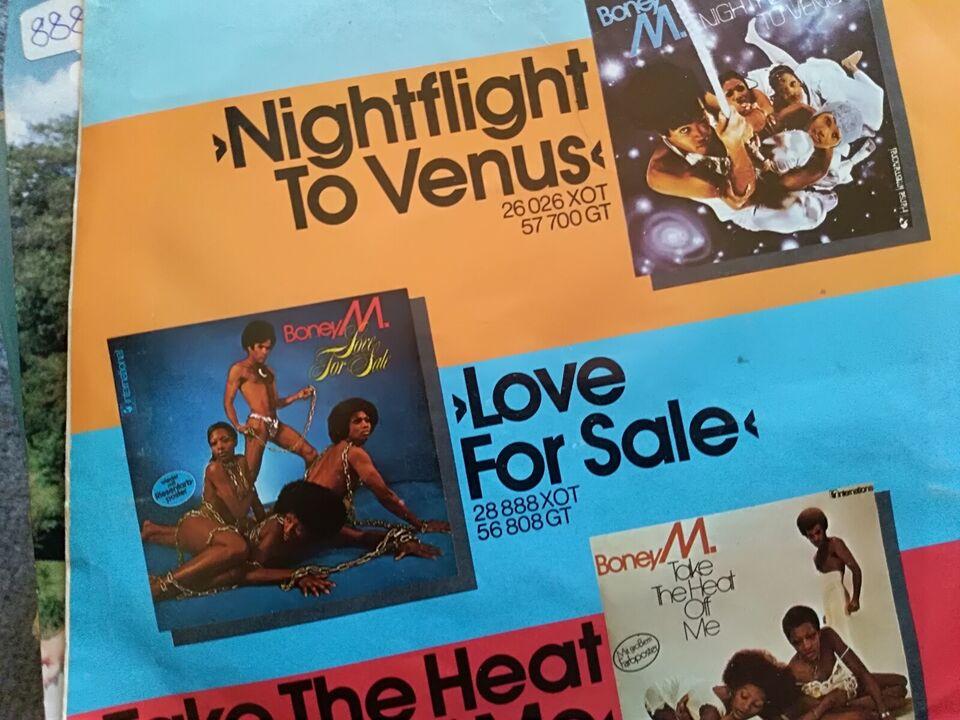 LP, Blandet LP og single samling, Pop