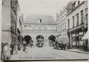 773-Antique-Postcard-Lille-Porte-de-Roubaix
