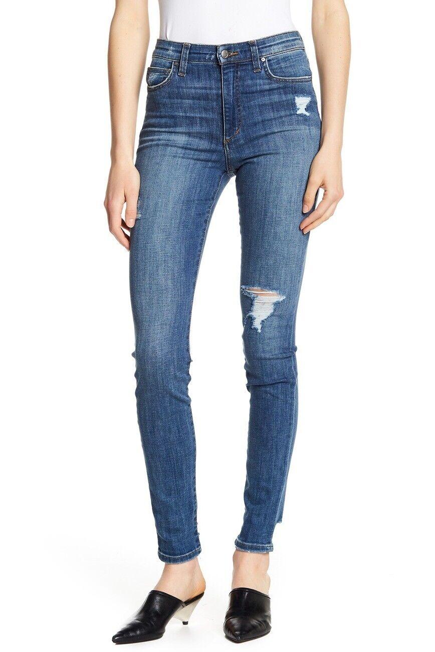 Joe's Jeans Charlie High Waisted Skinny Jeans Allura bluee Stretchy Size 29 NWT