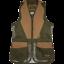 Jack-Pyke-Skeet-Chaleco-Malla-de-Disparo-Clay-Pigeon-Deportiva-Caza-Negro-Verde-UK miniatura 2