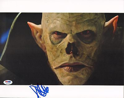 Entertainment Memorabilia Robin Atkin Downes Signed 11x14 Photo Psa/dna Coa The Strain Picture Autograph Rich In Poetic And Pictorial Splendor