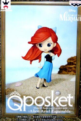 The Little Mermaid 100/% Authentic! Q posket petit Disney Characters Ariel