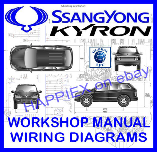 Automobilia SSANGYONG KYRON WORKSHOP SERVICE REPAIR MANUAL ...
