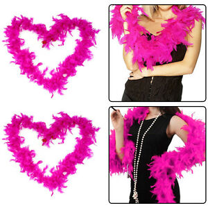 2M Fluffy Feather Boa Flower Craft For Party Wedding Dress Up Costume Decor Good