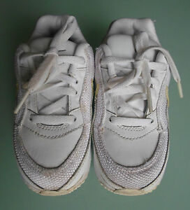 Nike-Airmax-Boys-Size-7-White-Mix-Trainers