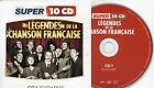 CD CART 15T LEGENDES DE LA CHANSON FRANCAISE N'O 1 EDITH PIAF NEUF NON SCELLE